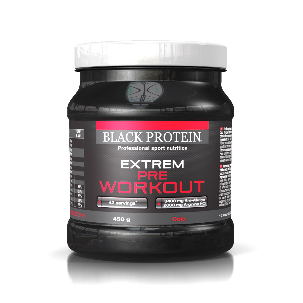 Black-Protein EXTREM PRE WORKOUT