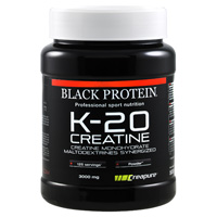 Creatinas K 20 Creatina Black-Protein - Fitnessboutique
