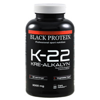 Creatinas K 22 Kre Alkalyn Black-Protein - Fitnessboutique