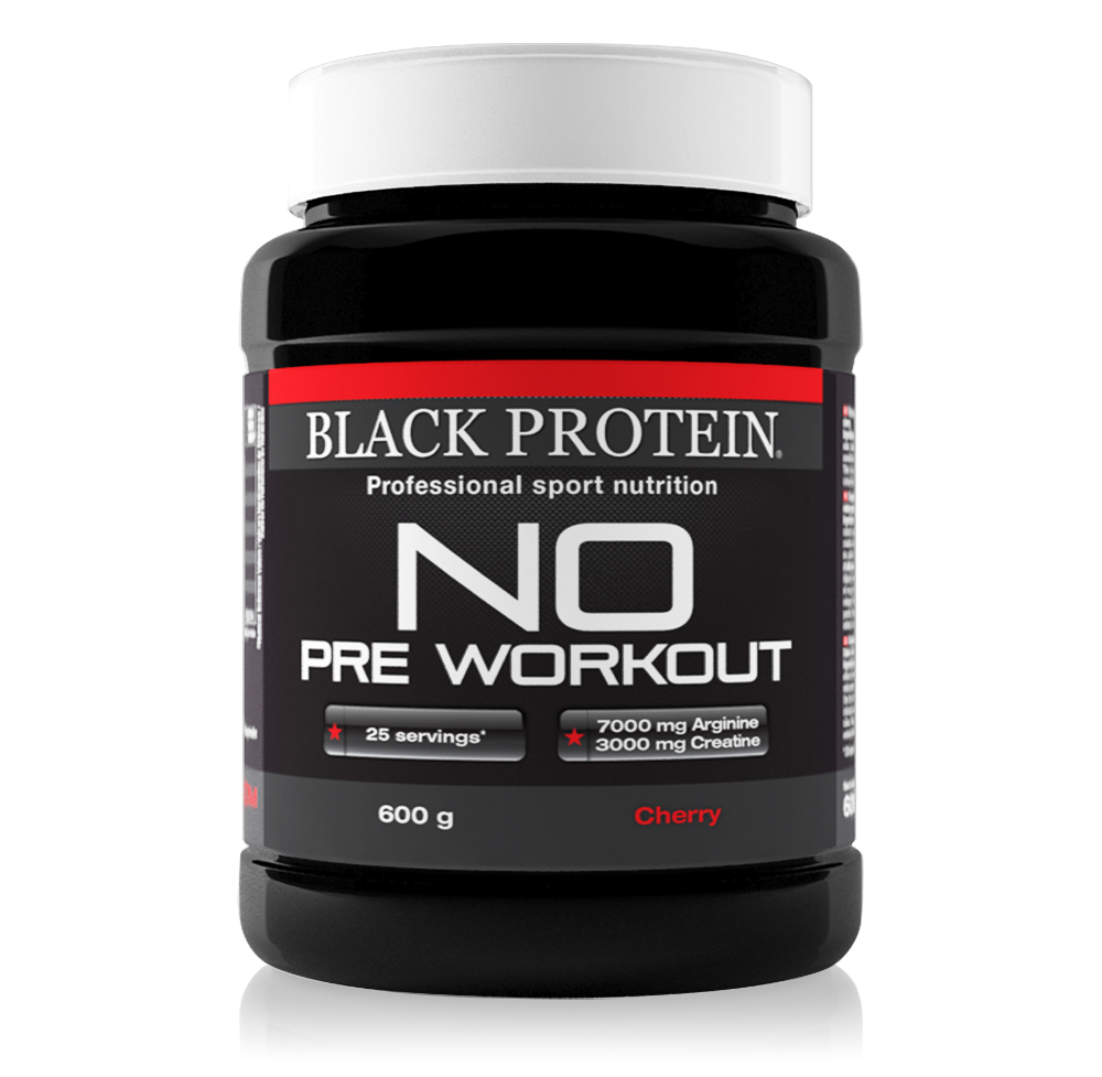 Black-Protein NO Pre WorkOut