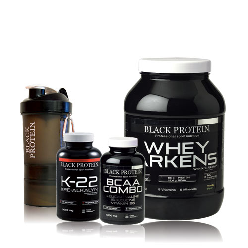 Black-Protein Pack Prise de Muscle 13