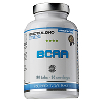 Aminoácidos Bodybuilding Nation BCAA