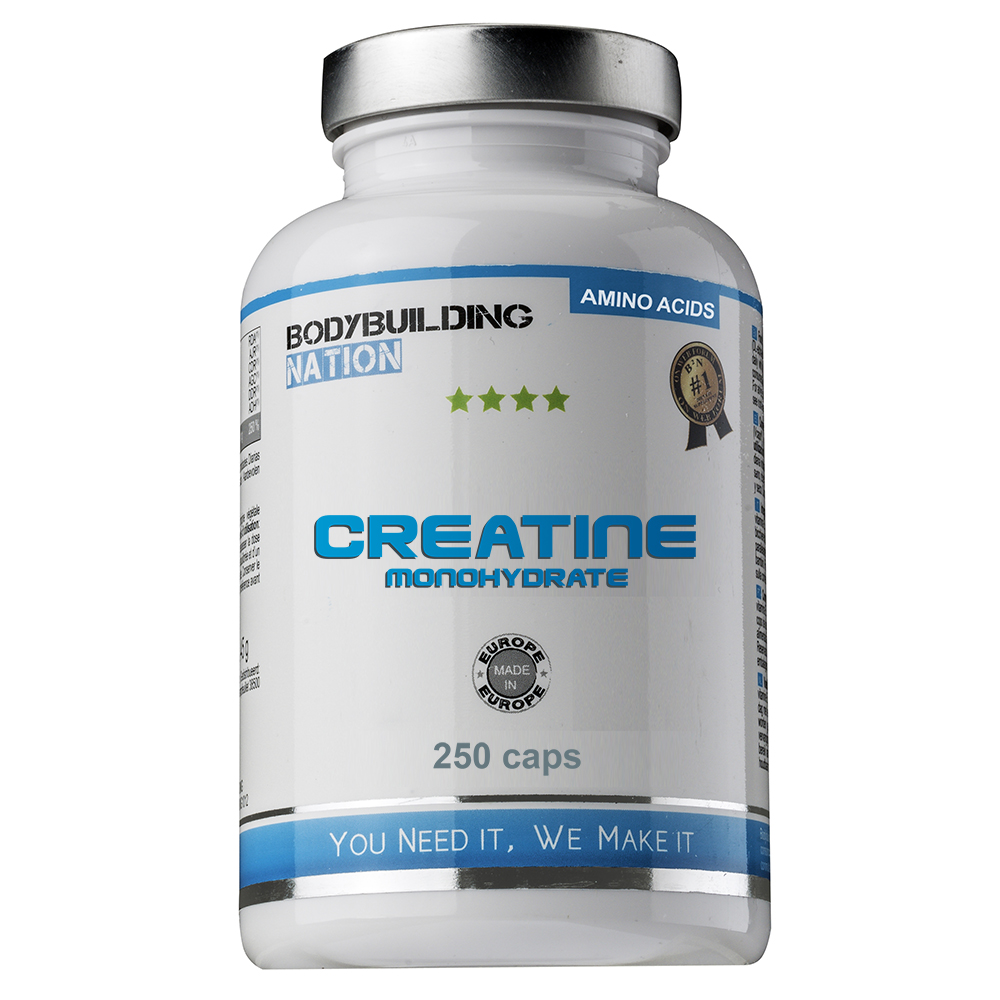 Creatinas Bodybuilding Nation Creatine Monohydrate