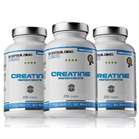 Creatinas Bodybuilding Nation Trio Creatine Monohydrate