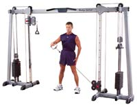 Posto peitorais e ombros Bodysolid Deluxe Cable Cross Over