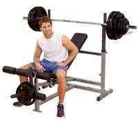 Banco de musculação BODYSOLID PowerCenter Combo Bench