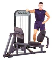 Postos isolados Bodysolid Leg Press W/210LB