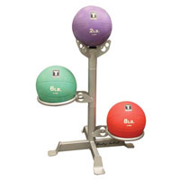 Bola medicinal - Gym Ball Rack para 3 bolas medicinais Bodysolid - Fitnessboutique