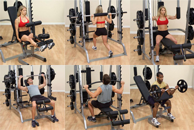 Bodysolid Smith Machine Série 7 Full Options