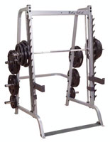 Posto peitorais e ombros Bodysolid Smith Machine série 7 base