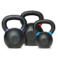 Kettlebells BODYSOLID Kettlebell 4 kg Black - Light Green