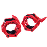Olímpico - Diâmetro 51mm Bodysolid Clips olímpicos Collar Red