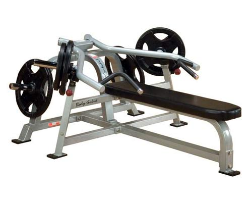 Bodysolid Club Line PRO AVERAGE BANCO PLANO PRESS DE BRAÇOS