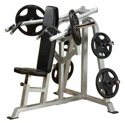 Bodysolid Club Line Press Bench Shoulder Leverage