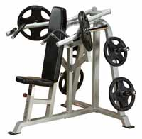 Posto peitorais e ombros Bodysolid Club Line Press Bench Shoulder Leverage