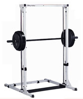Smith machine e Squat Bodysolid Power Center base e barra guiada