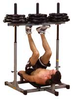 Posto de pernas e coxas Press para coxas vertical Powerline - Fitnessboutique