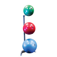 Bola medicinal - Gym Ball Bodysolid RACK 3 STABILITY BALLS