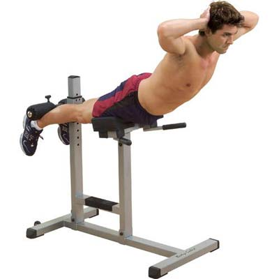 Bodysolid Banco para lombares horizontal