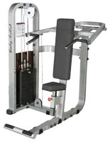 Posto peitorais e ombros Bodysolid Club Line Press de Ombros