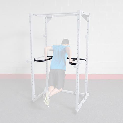 Jaulas squat OPÇÃO PARA DIPS DR100 - POWERRACKS PPR200 E BFPR100R Bodysolid - Fitnessboutique