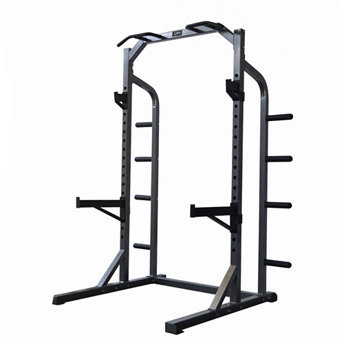 Dkn HALF RACK + SET DE 6 TAPETES DE PROTEÇÃO + SUSPENSION TRAINER DE OFERTA