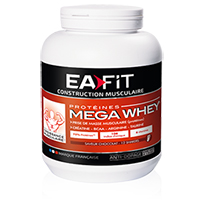 Proteína whey Mega Whey Ea Fit - Fitnessboutique