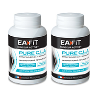 Queimador de gordura DUO PURE CLA Ea Fit - Fitnessboutique