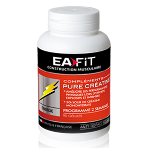 Ea Fit Pure Creatine Cápsulas