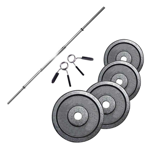 Fitness Doctor PACK BARRA 1,83 M + 40 KG EM DISCOS 28 MM