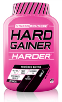 Gainer - aumento de massa HARD GAINER Harder - Fitnessboutique