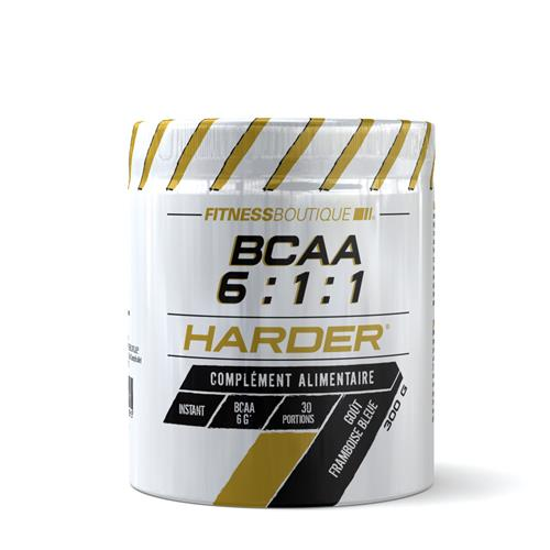 Aminoácidos BCAA 6 1 1 Harder - Fitnessboutique