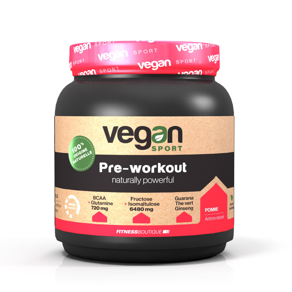 Vegan Sport PRE WORKOUT NATURALLY POWERFULL
