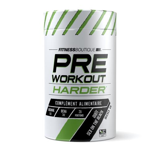 pré workout Harder PRE WORKOUT