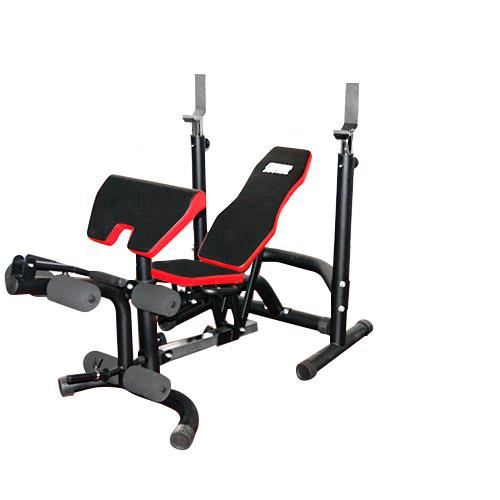 Banco de musculação Fitness Doctor Black Bench