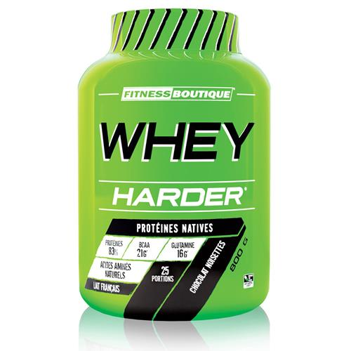Proteínas WHEY HARDER Harder - Fitnessboutique