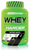 Proteína whey Harder PACK DESCOBERTA