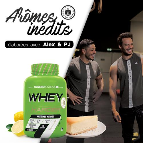 Proteína whey WHEY HARDER Harder - Fitnessboutique