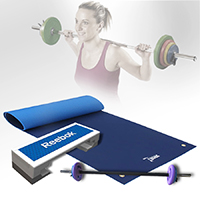 Kit e Barras Body Pump Fitnessboutique Pack Pump Pro