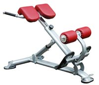 Posto costas e lombares Bh fitness Inclined bench