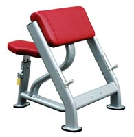 Posto bíceps e tríceps Bh fitness Seated scott curl