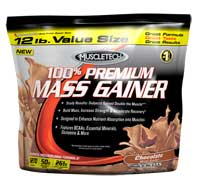 Gainer - aumento de massa Muscletech 100% Premium Mass Gainer