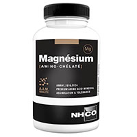 pré workout MAGNESIUM AMINO CHELATE Nhco Nutrition - Fitnessboutique