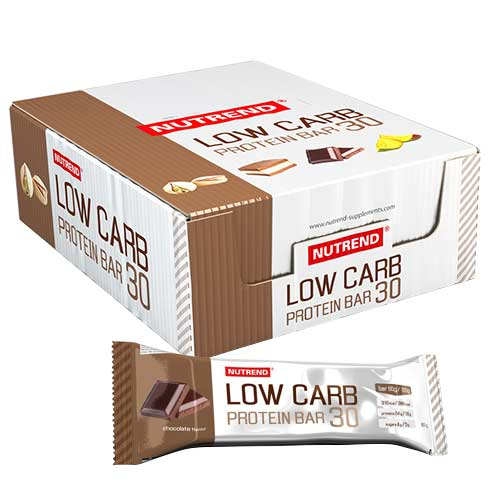 Barras de proteína Nutrend Low Carb Protein Bar 30