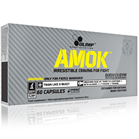 Complementos energéticos Olimp Amok