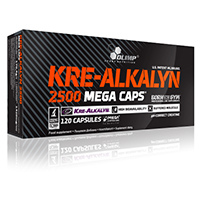 Creatinas Olimp Nutrition Kre Alkalyn 2500 Mega Caps