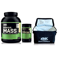 Gainer - aumento de massa Pack Serious Gain Optimum Nutrition - Fitnessboutique