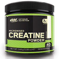 Creatinas Optimum Nutrition MICRONIZED CREATINE POWDER