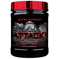 pré workout Attack 2 Scitec Nutrition - Fitnessboutique