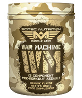 pré workout Scitec Nutrition War Machine